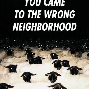 Wrong Neighborhood ! by electrosterone