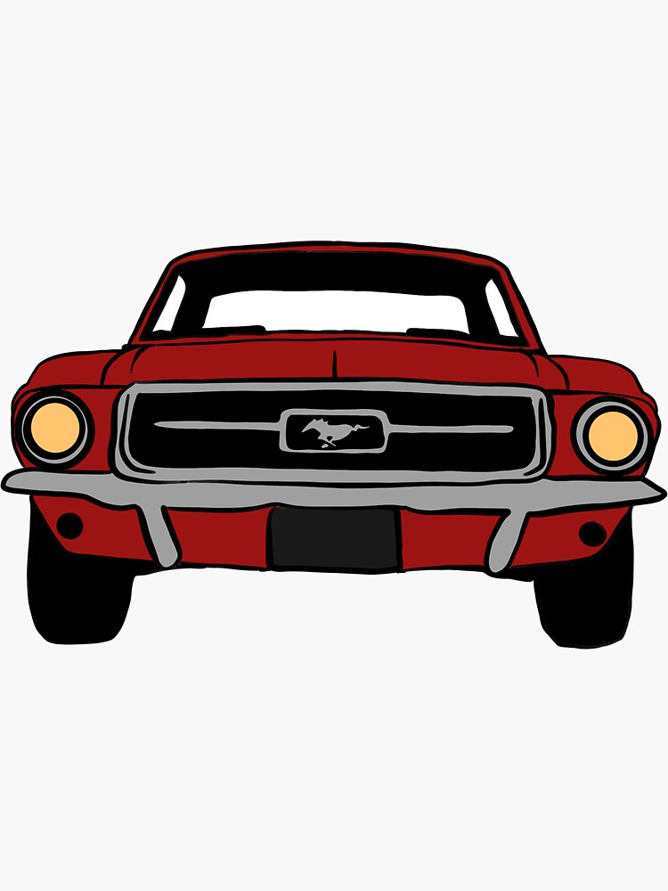 1967 Ford Mustang Candy Apple Red by kaylabeatty