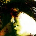 Movie Screen Murder Scene by Stephanie Bynum