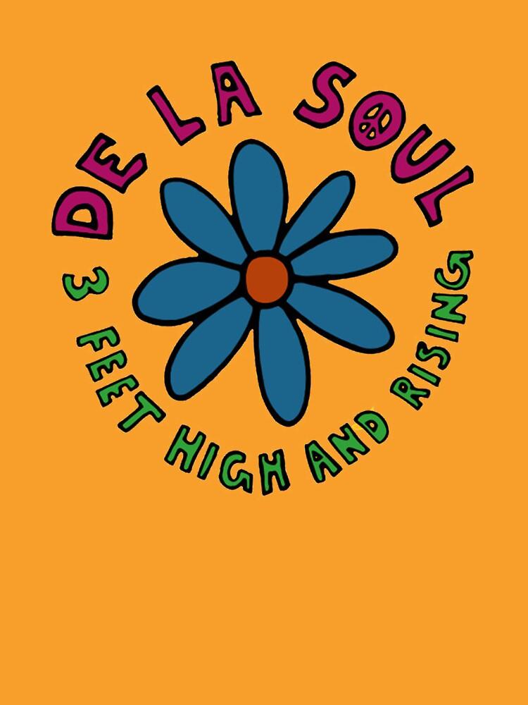 De La Soul 3 Feet High And Rising by MrCostard