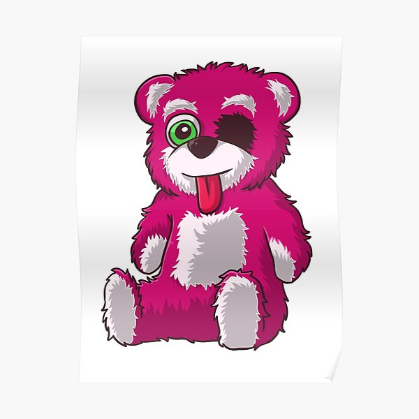 Breaking bad Pink teddy bear Poster