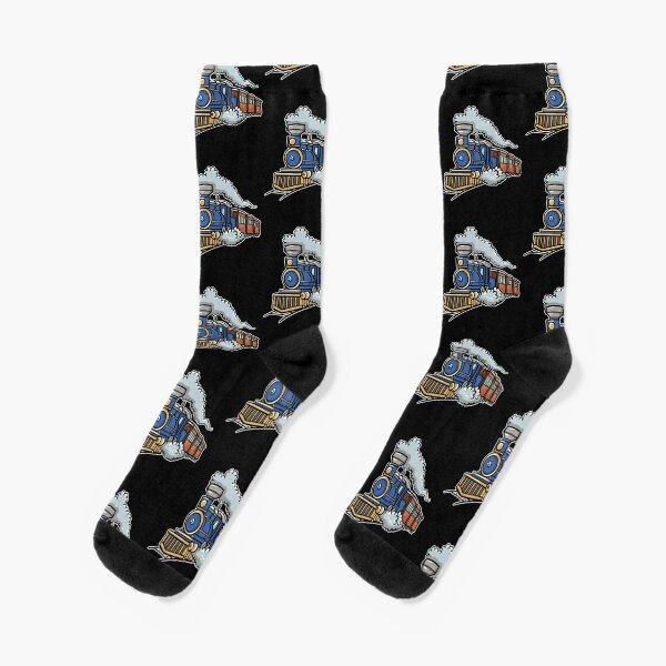 Train Railroad Socks