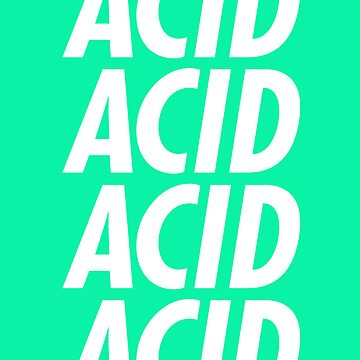 ACID - Font 2 by electrosterone