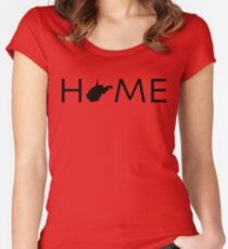 WEST VIRGINIA HOME Women's Fitted Scoop T-Shirt