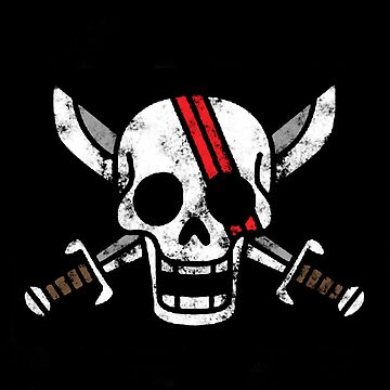 Red-Haired Shanks Jolly Roger by CraftMonsters