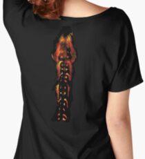 Alien Spine Women's Relaxed Fit T-Shirt