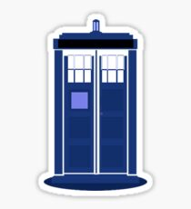 TARDIS: Time and Relative Dimension in Space Sticker