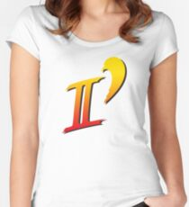 Street Fighter II DASH logo tee Women's Fitted Scoop T-Shirt