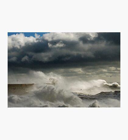 Turbulent Seas Photographic Print