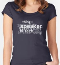 Hi Tech Thing Women's Fitted Scoop T-Shirt