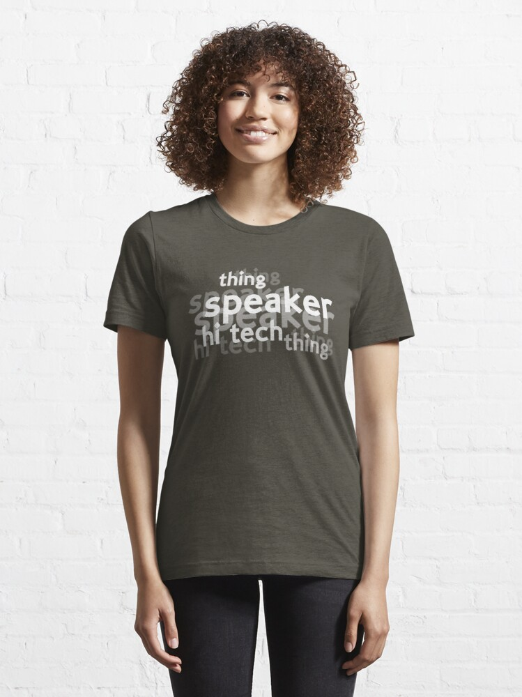 Alternate view of Hi Tech Thing Essential T-Shirt