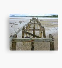 The Old Pier Of Fahan Canvas Print