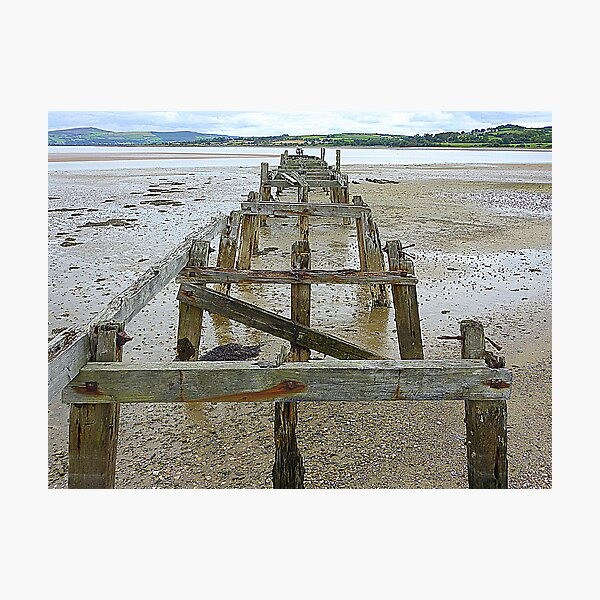 The Old Pier Of Fahan Photographic Print