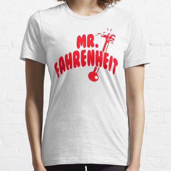 M. Fahrenheit T-shirt essentiel