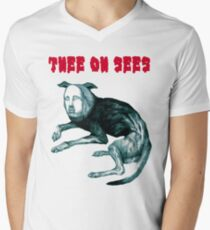"""Thee Oh Sees """"Putrifiers II"""" Men's V-Neck T-Shirt"""