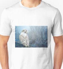The Mystical Snowy Owl Unisex T-Shirt