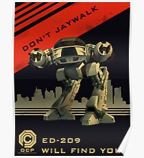 Robocop: Don't Jaywalk Poster