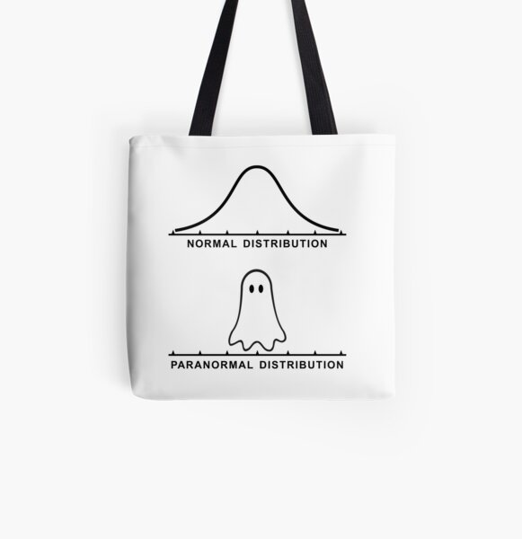 Normal Paranormal Distribution All Over Print Tote Bag