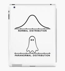 Normal Paranormal Distribution iPad Case/Skin