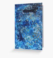 """Blue Dream"" by Carter L. Shepard Greeting Card"