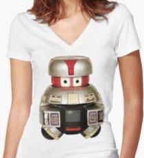 V.I.N.C.E.N.T Women's Fitted V-Neck T-Shirt