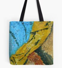 """A Flash Of Yellow"" by Carter L. Shepard Tote Bag"
