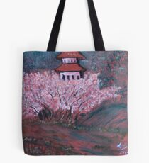 """Waiting Maiden 4"" by Carter L. Shepard Tote Bag"