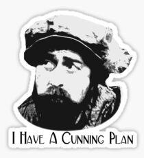 Baldrick - I Have A Cunning Plan Sticker