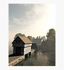 Island Manor House Photographic Print