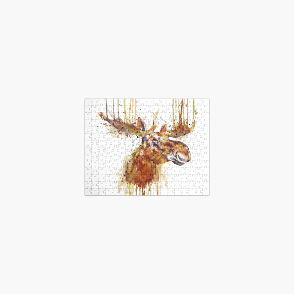 Moose Head Jigsaw Puzzle