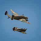 Lockheed Hudson and Boomerang by Chris  Randall
