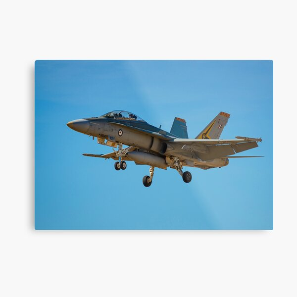 FA-18 Hornet Metal Print