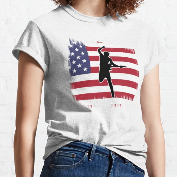 Springsteen painted flag Classic T-Shirt