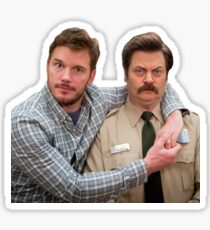 Andy & Ron Sticker