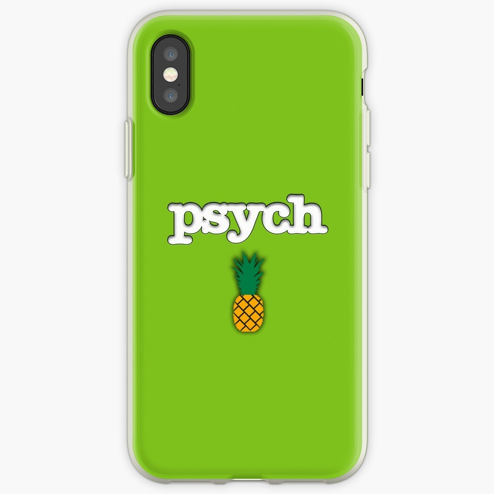 Psych Ananas Design iPhone-Hülle & Cover
