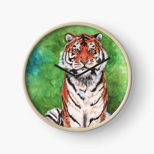 Tiger in the Jungle  Clock