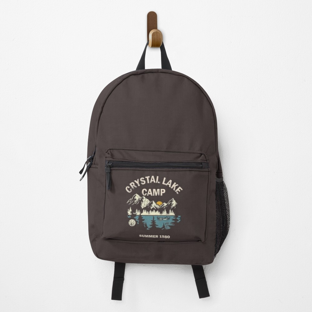 Camp Crystal Lake Friday 13 Vintage Backpack