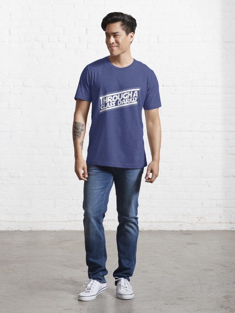Alternate view of The Dark Glass Strikes Back Essential T-Shirt