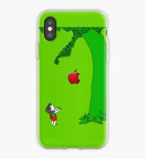 The giving tree apple iPhone Case