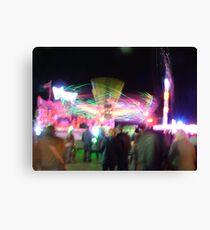 Fairground Attractions Canvas Print