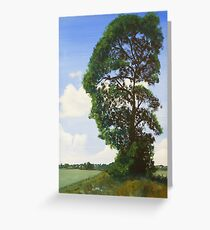 Landscape with Tree Greeting Card