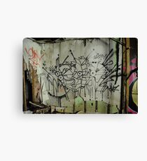 Freeform Graffiti - Canvas Print