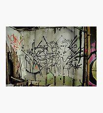 Freeform Graffiti - Photographic Print