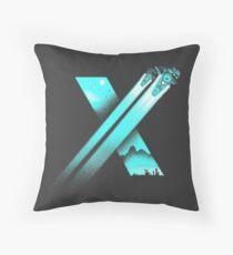 XENO CROSS Throw Pillow