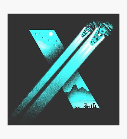XENO CROSS Photographic Print
