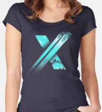 XENO CROSS Women's Fitted Scoop T-Shirt