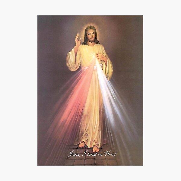 Divine Mercy Photographic Print