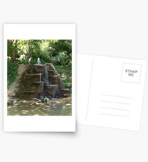 """""""Fountain"""" by Carter L. Shepard Postcards"""