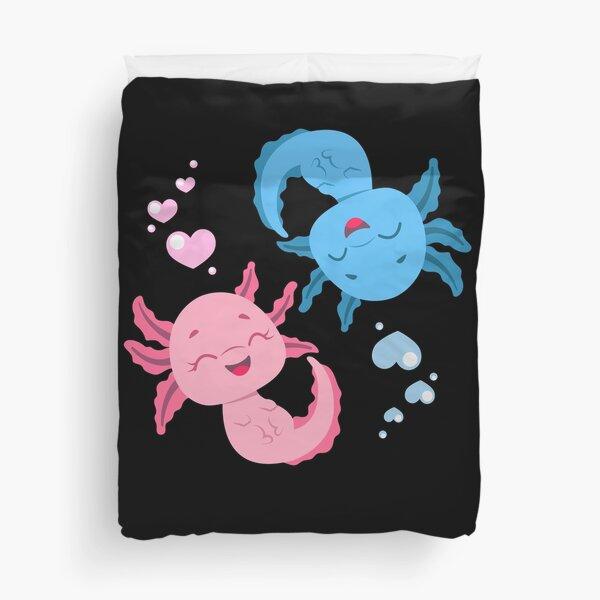 Axolotl Axolotls Duvet Cover
