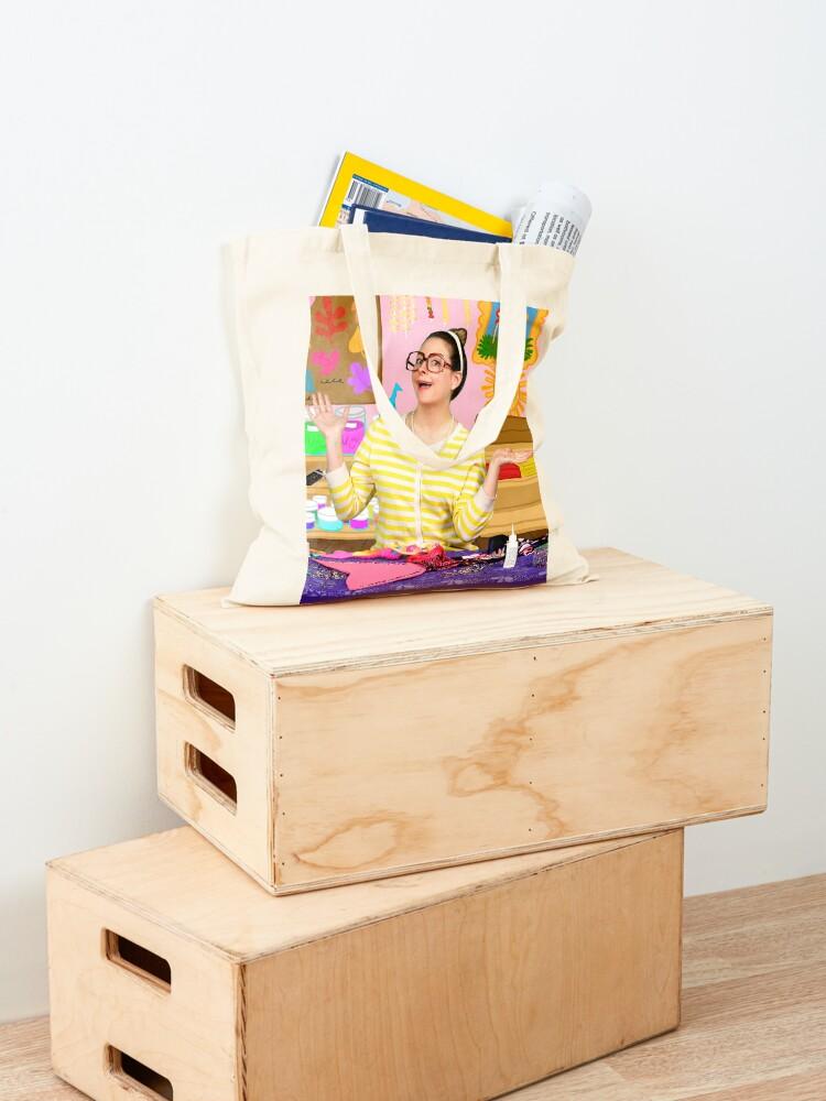Alternate view of Crafty Carol Arts Camp Cool School  Tote Bag